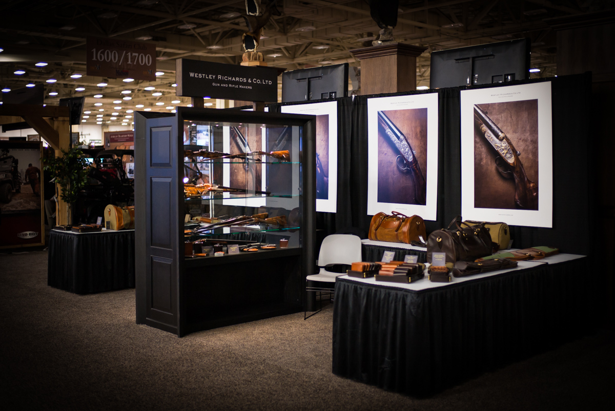 Westley Richards stand at Dalas SCI