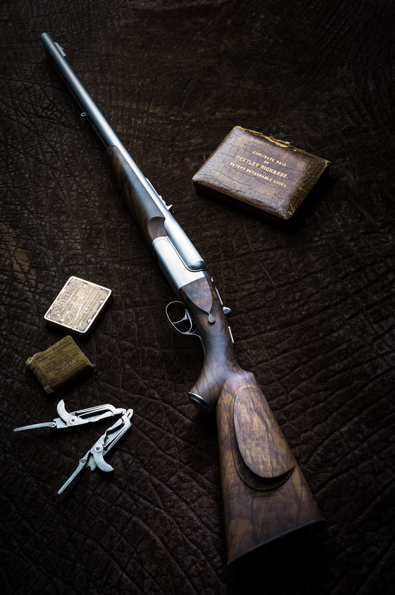 Westley Richards double rifle