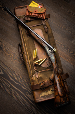 The Mighty .500 Jeffery in a Westley Richards Droplock Double Rifle