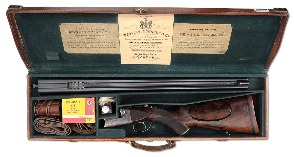 Elmar Keith .476 Westley Richards droplock
