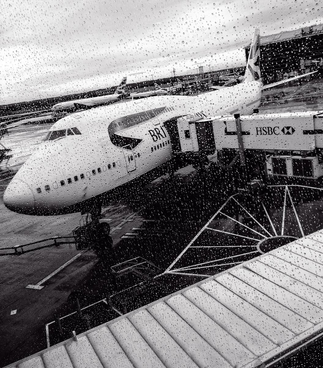 BA departure for Las Vegas