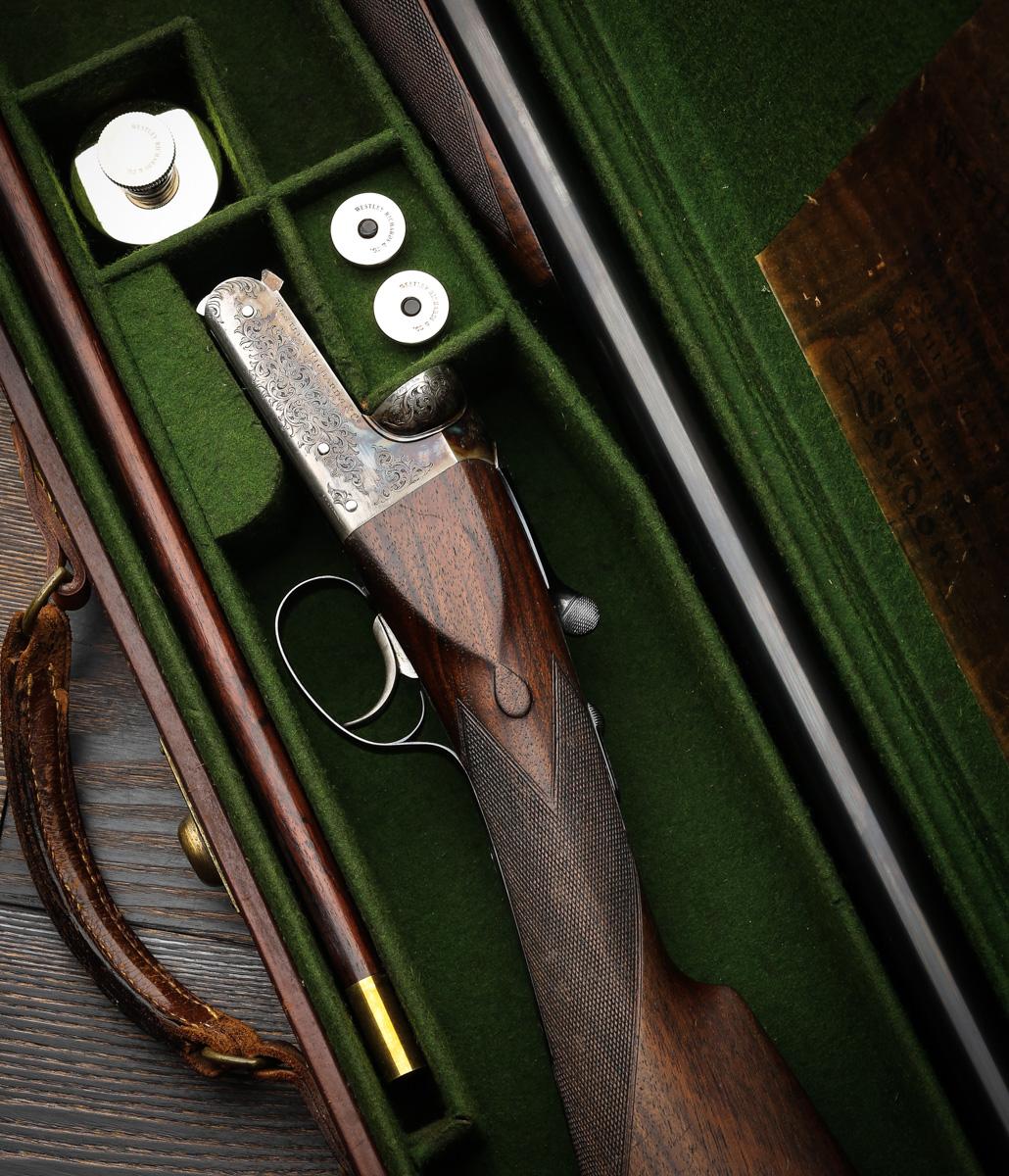 Westley Richards 12g Heronshaw  model shotgun