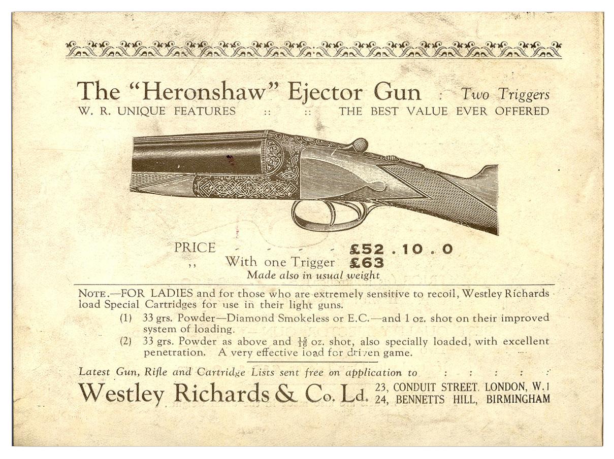Heronshaw from Catalogue