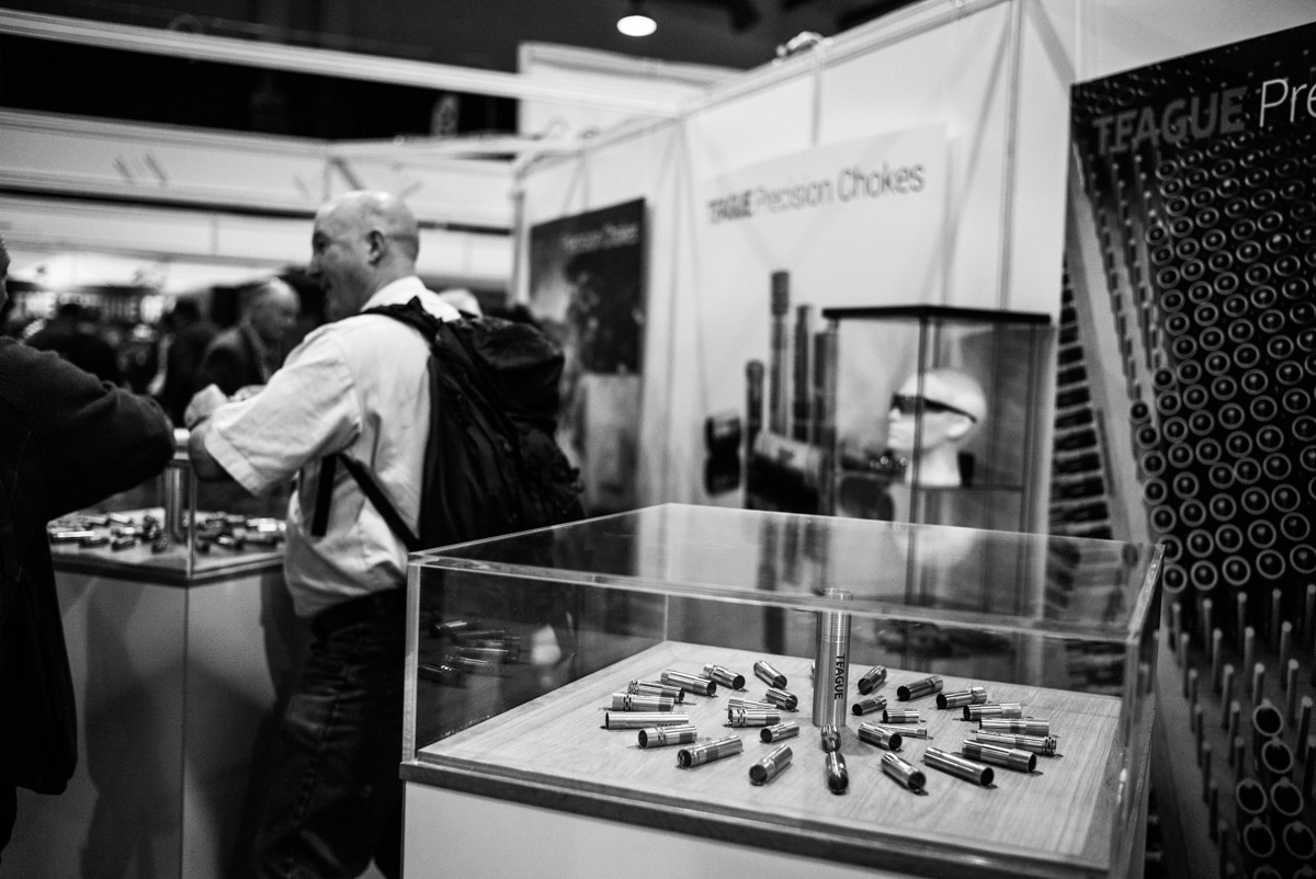 Teague precision chokes at the Great British Shooting show