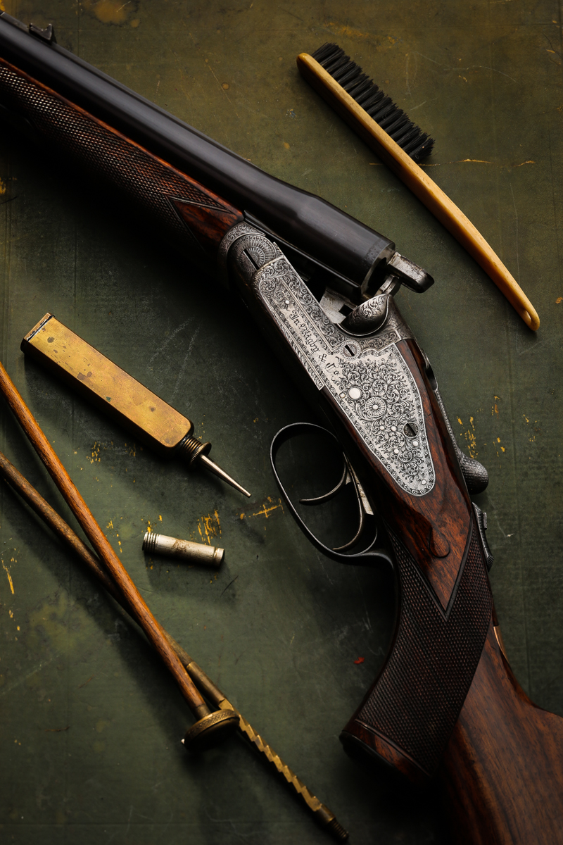 Rigby Rising Bite Sidelock Double Rifle