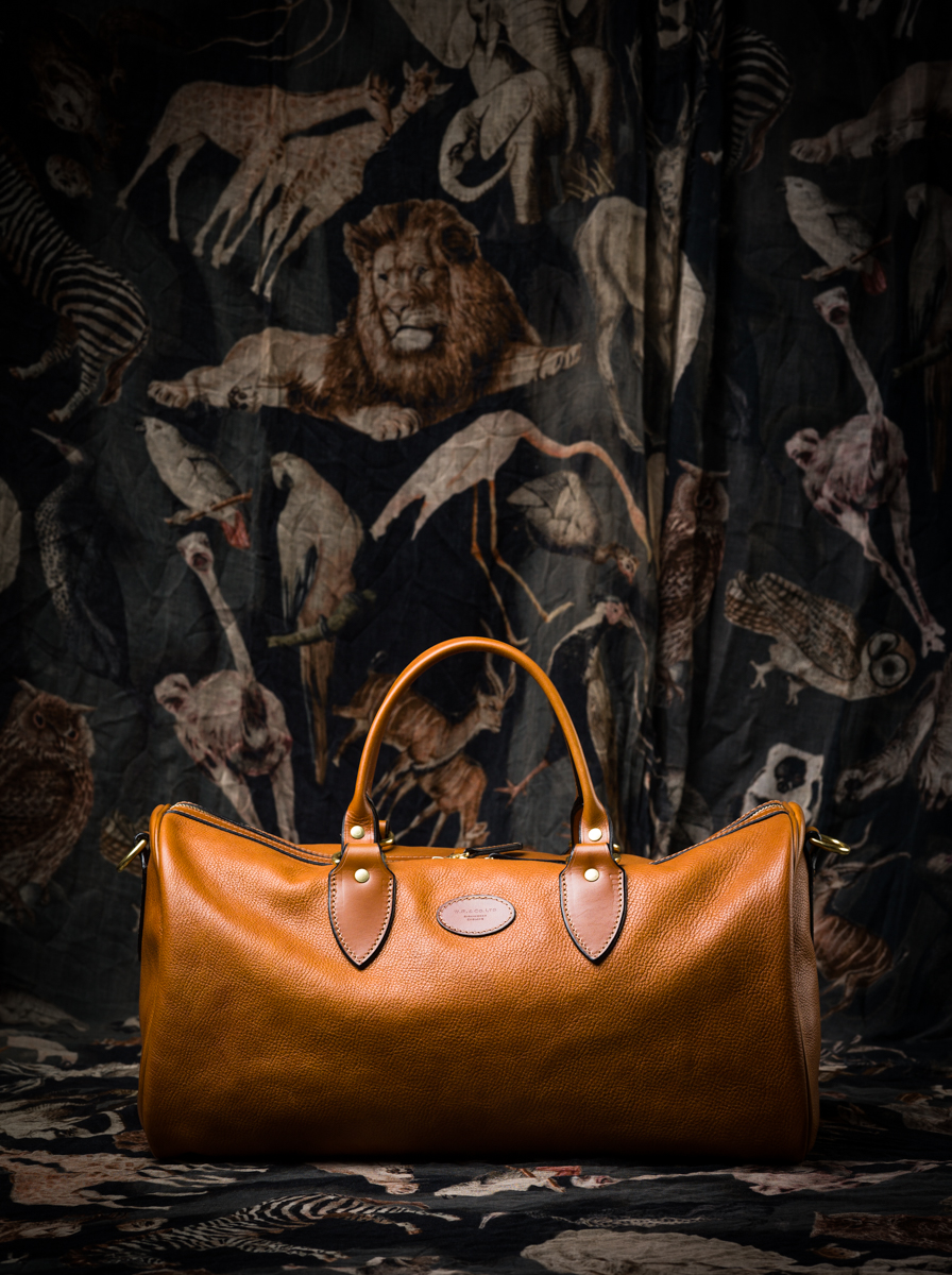 Westley Richards Leather Lyell Overnight bag