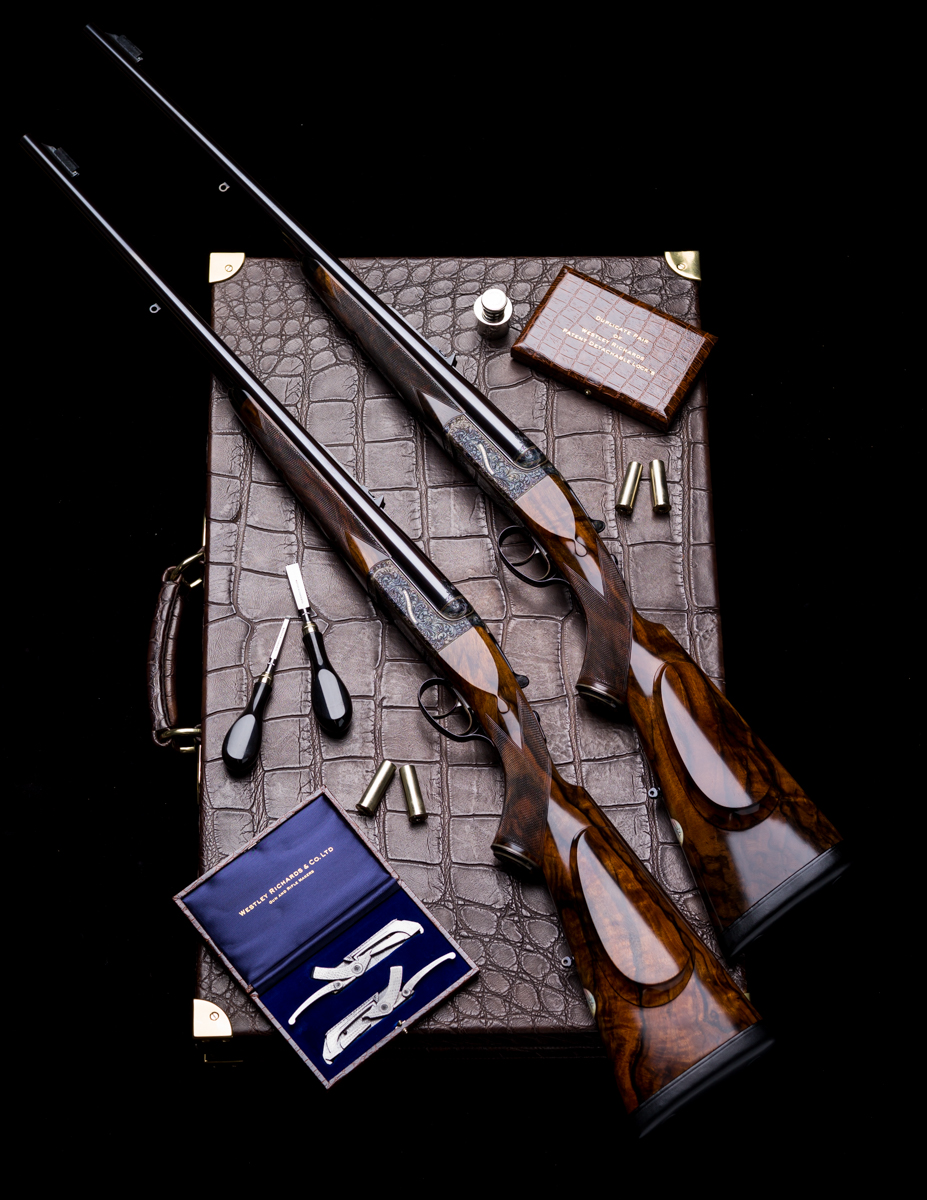 A Pair of Westley Richards .470 Droplock Double Rifles