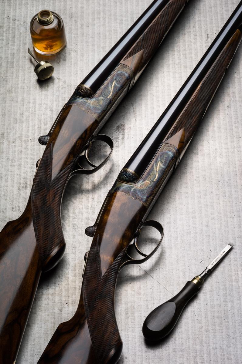 Pair of Westley Richards 20g Droplock Shotguns