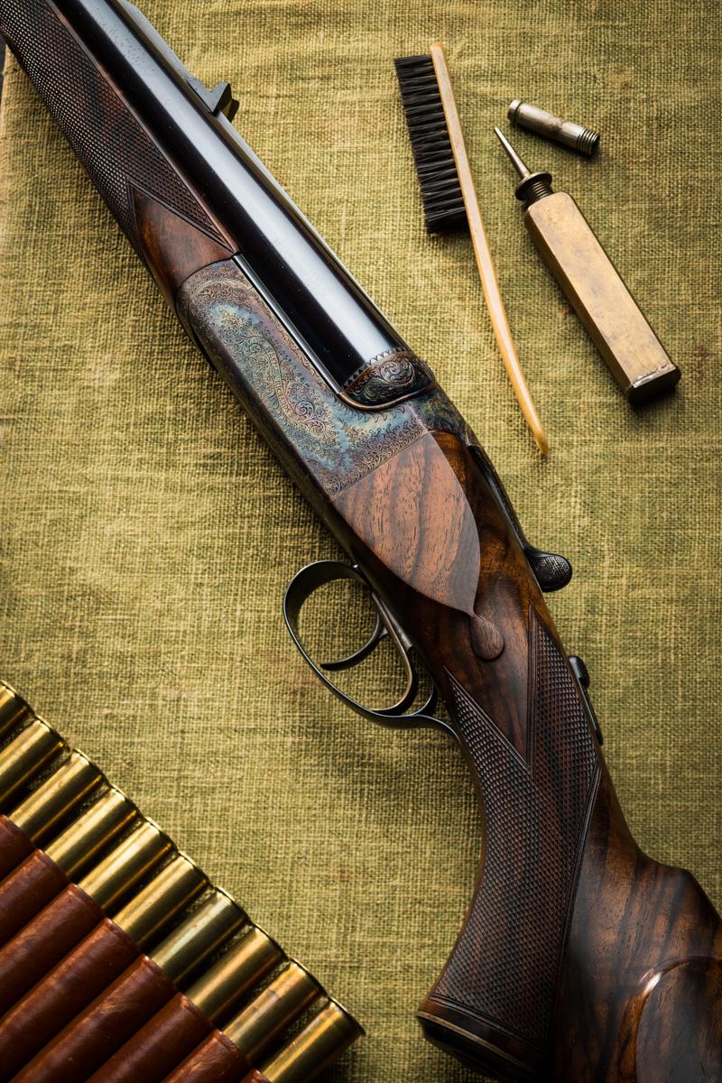 Westley Richards 500 Droplock double rifle