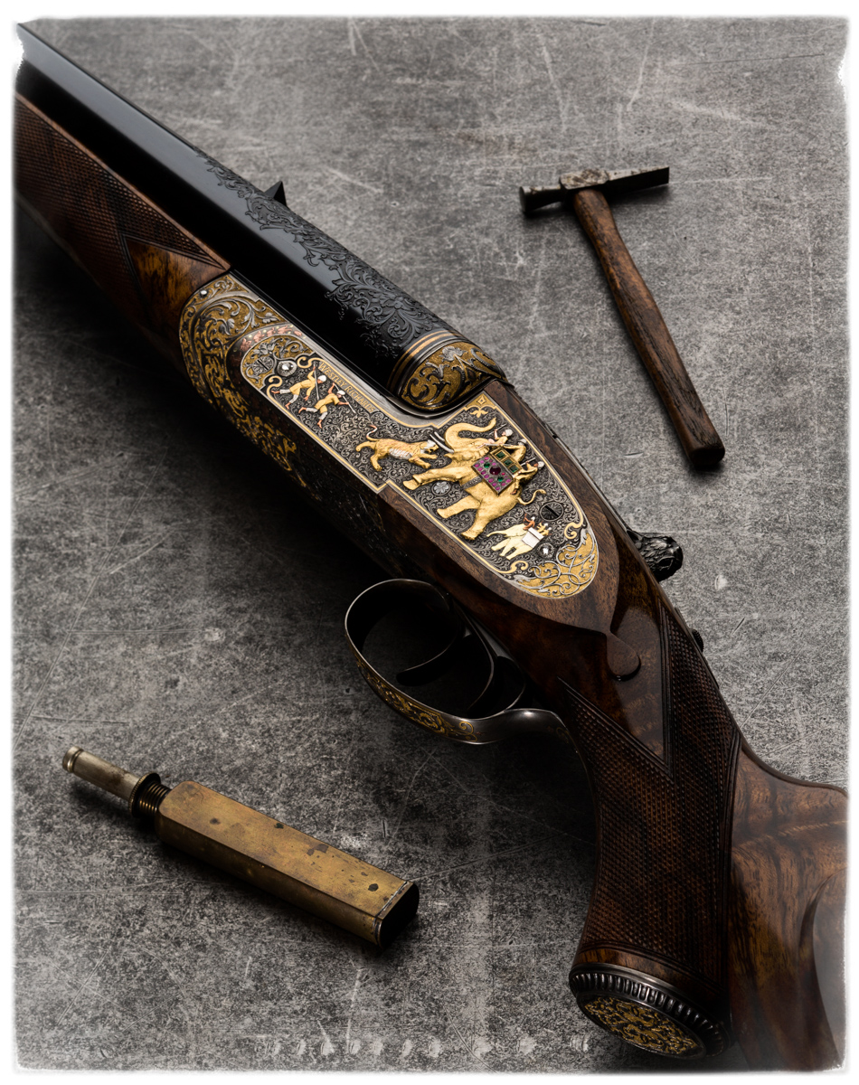 Westley Richards .600 India Rifle