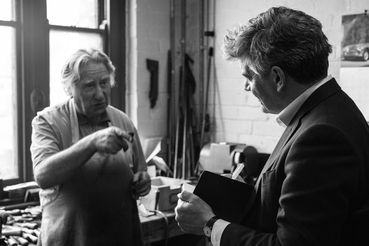 Jeremy Musson and Ken Halbert