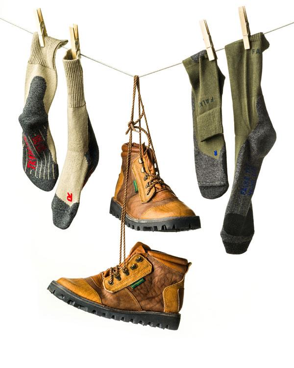Courteney boots & Falke socks