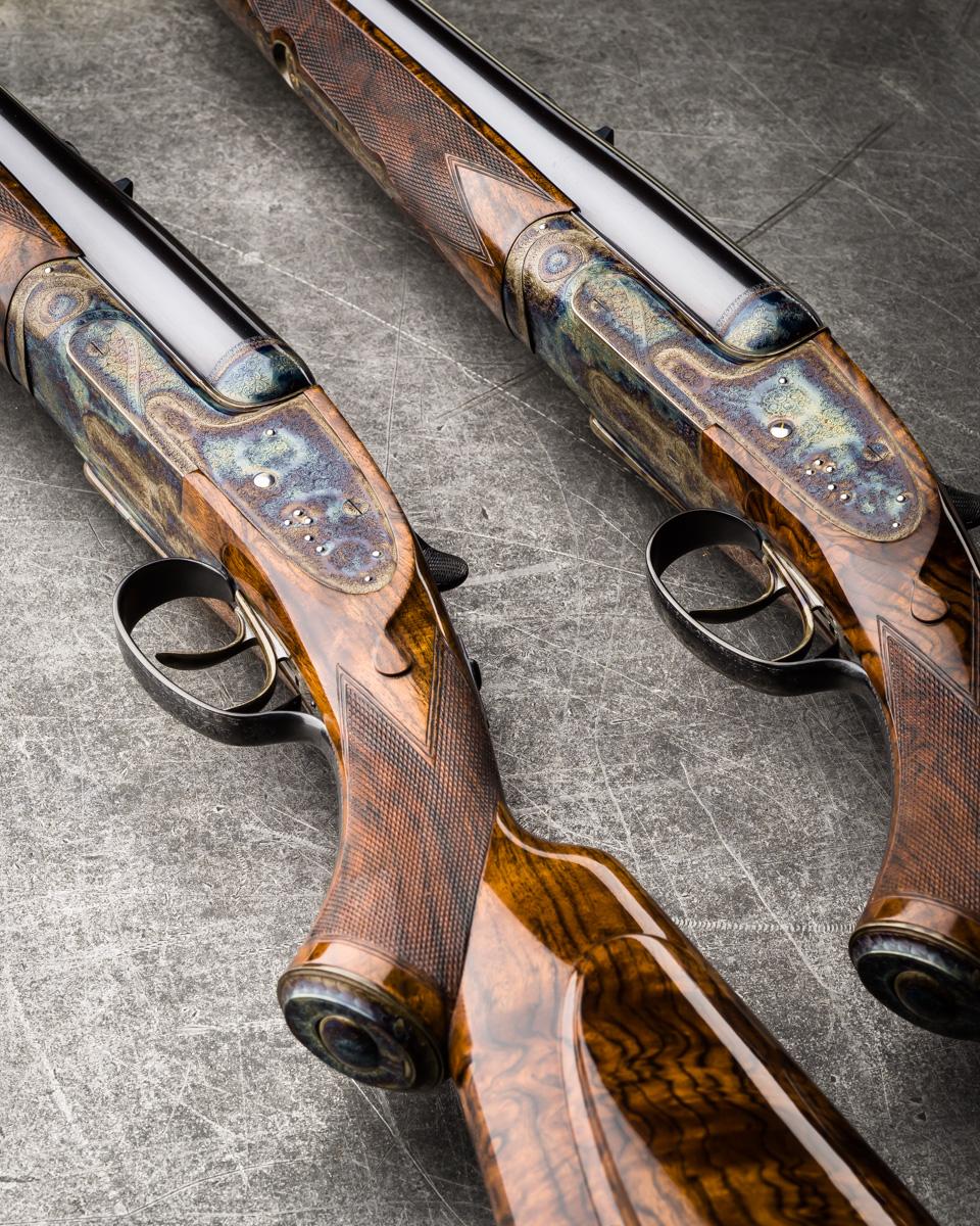 Westley Richards, Pair .470, sidelock, rifles
