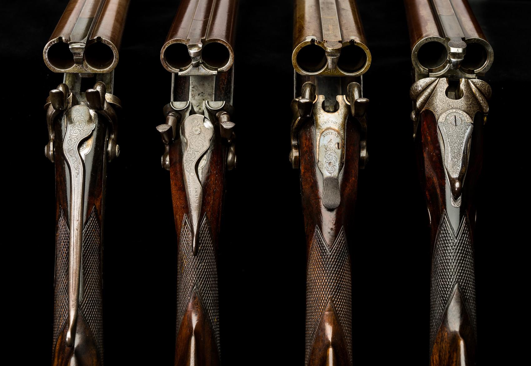 Westley Richards, Top Lever, Shotguns