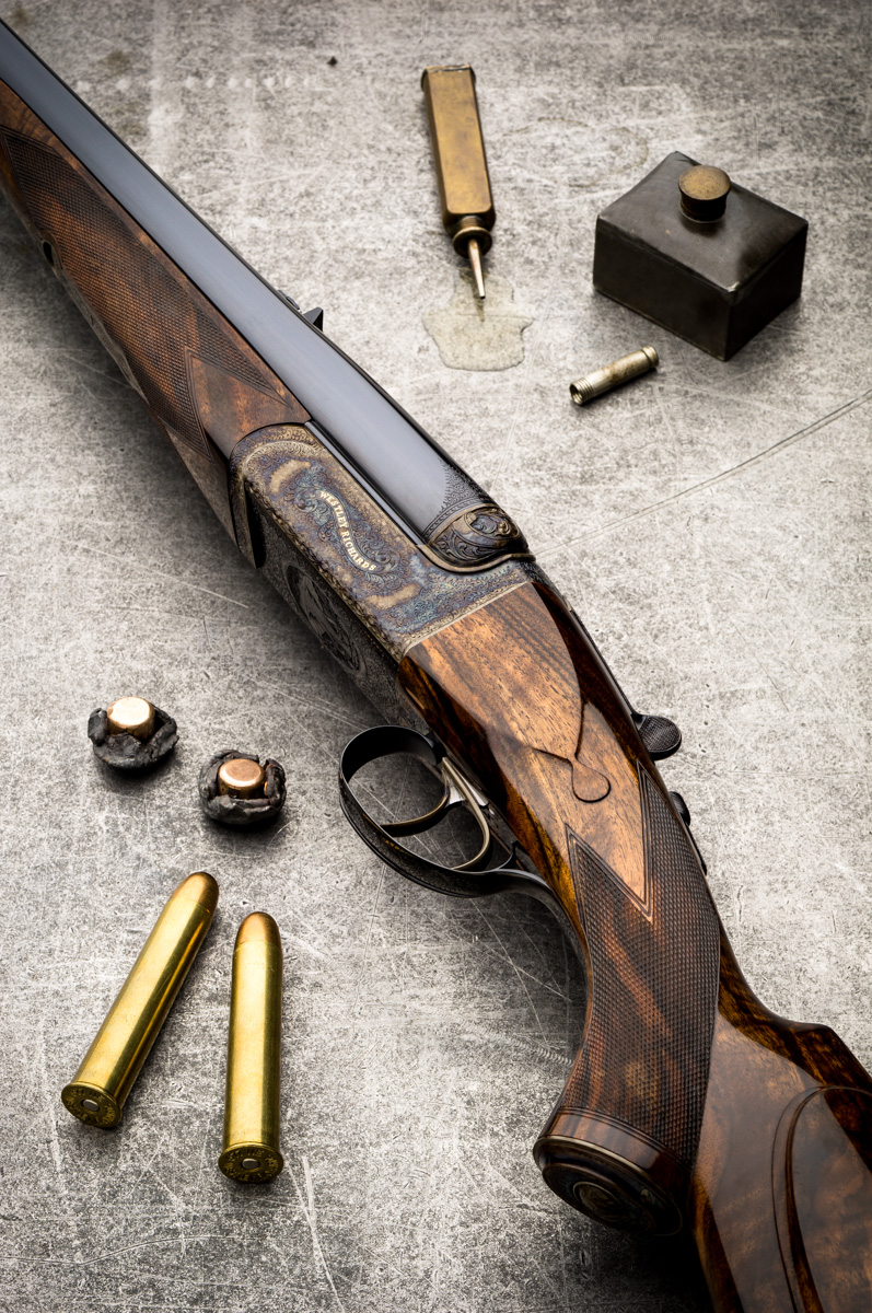 Westley Richards, .577, droplock, double rifles