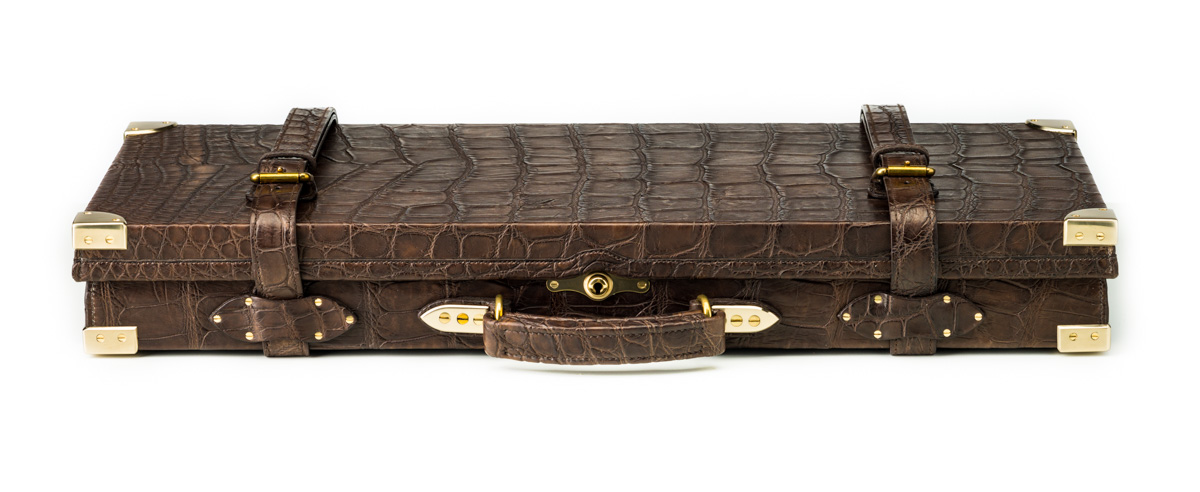 Westley Richards Alligator Gun Case