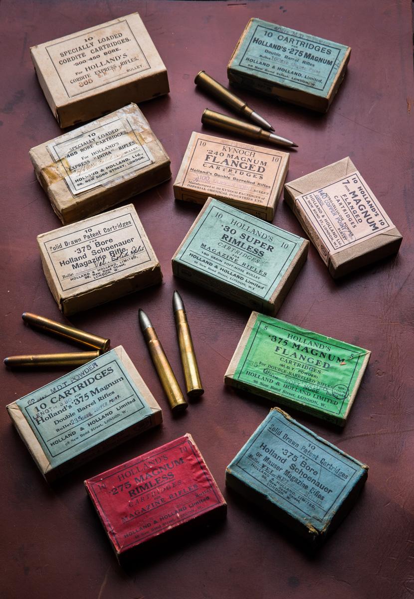 Holland & Holland vintage ammo