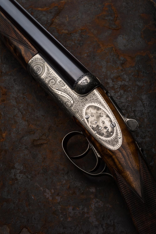 Westley Richards, Roundaction, Sidelock, shotgun, 12g
