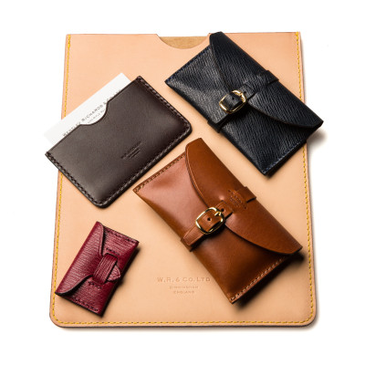 W R & Co. small leather goods.