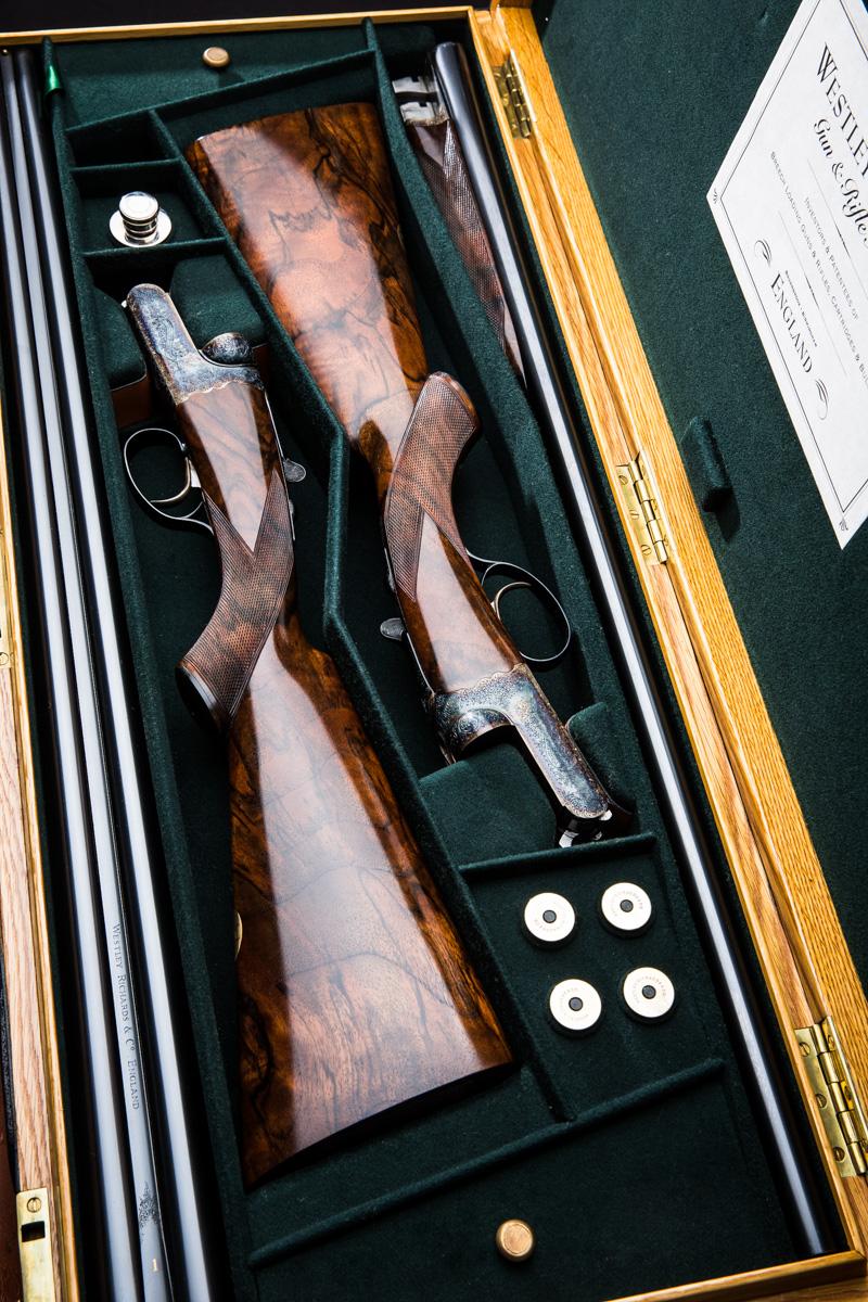Westley Richards, Droplock, 12g, shotguns