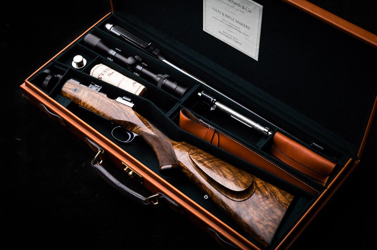 Take down rifle, westley richards, 318