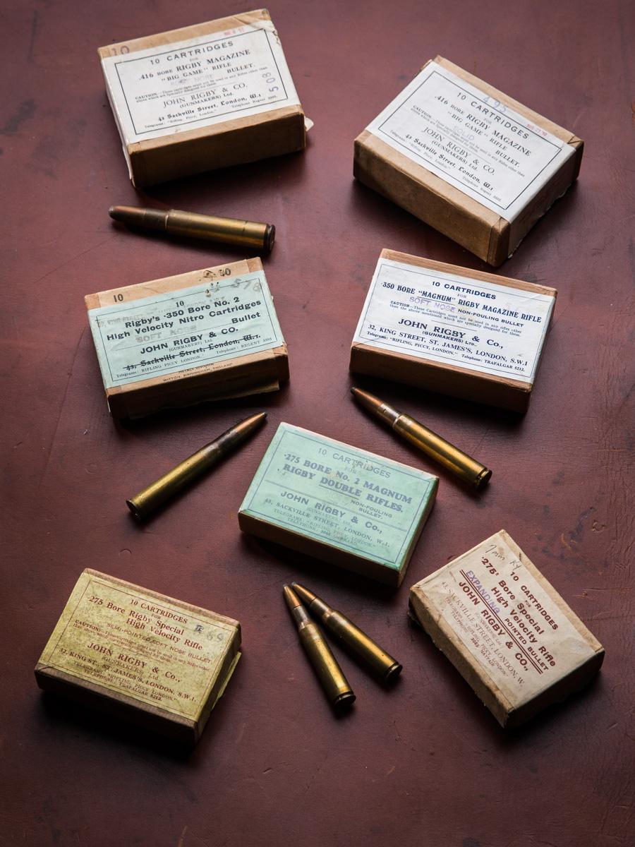 Rigby Vintage Ammo