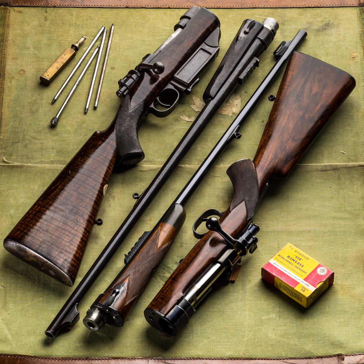 Westley Richards, take down rifles, .318, .425 wr