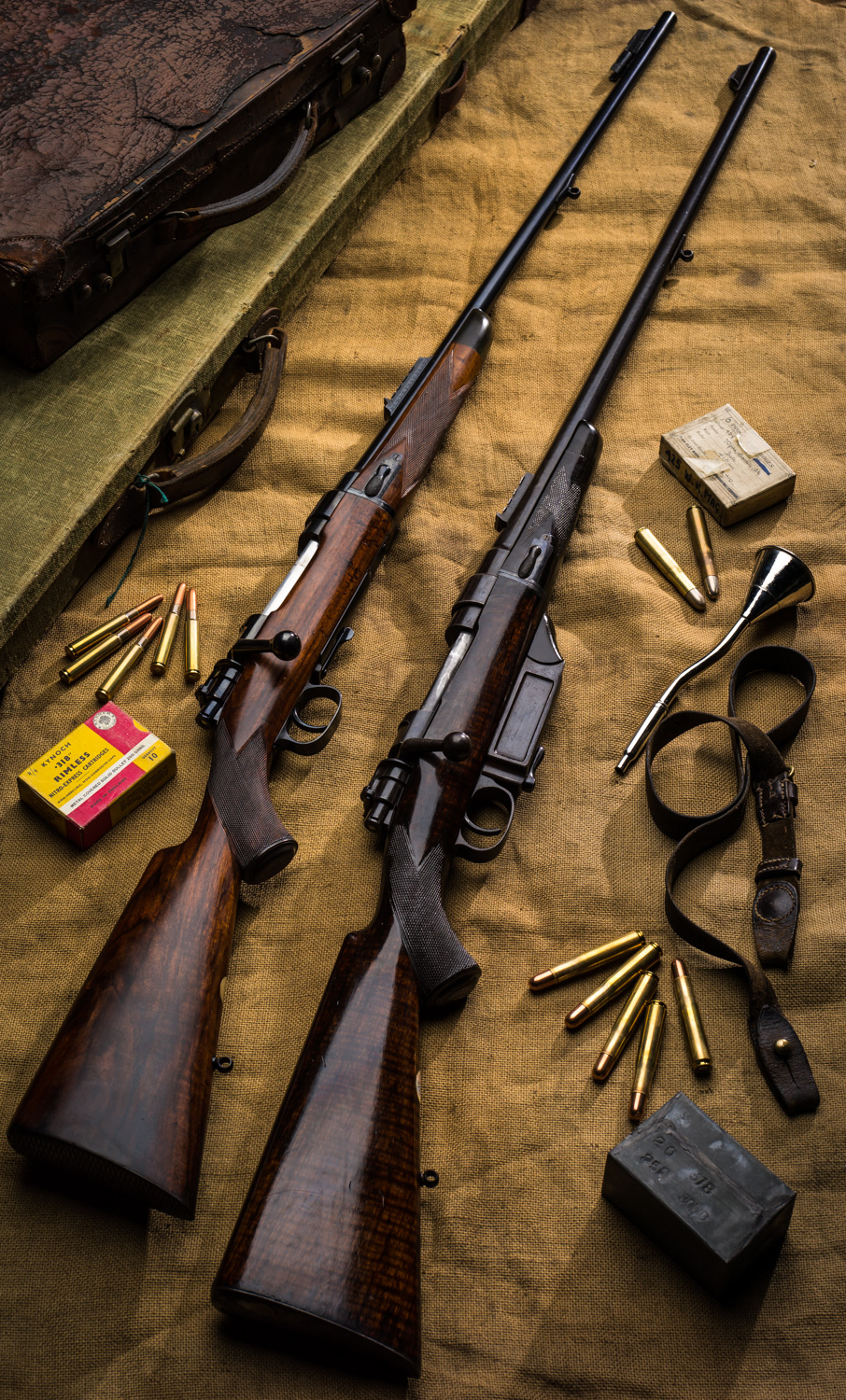 Westley Richards Take Down rifles, 318, 425