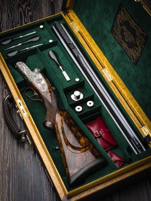 Westley Richards .700/.577 Hand Detachable Lock Double Rifle.