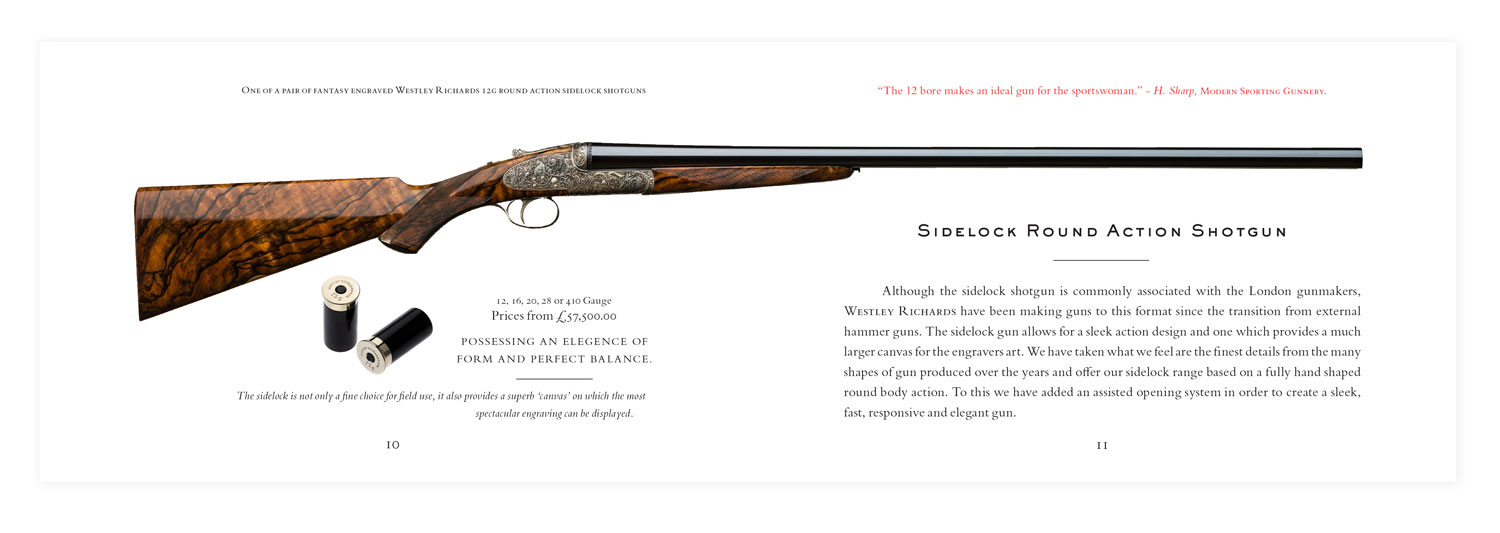 New Gun Brochure Westley Richards