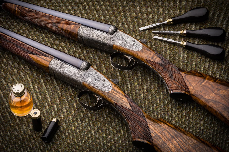 Westley Richards sidelock 20g pair of guns
