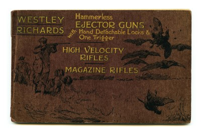 A Nod to the Past, A small Westley Richards New Gun & Rifle Catalogue in the making.