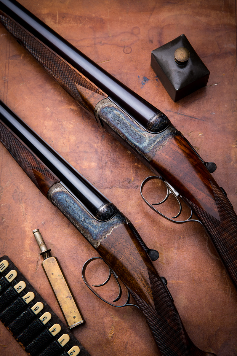 Westley Richards, droplock set of 28g and 12g shotguns