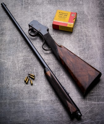 Westley Richards Patent Miniature Rifle Martini Action in .297/.250