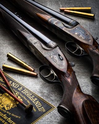 Six Holland & Holland Royal Double Rifles.