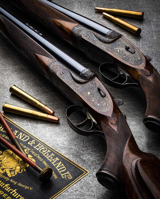 Holland & Holland Royal Double Rifles.