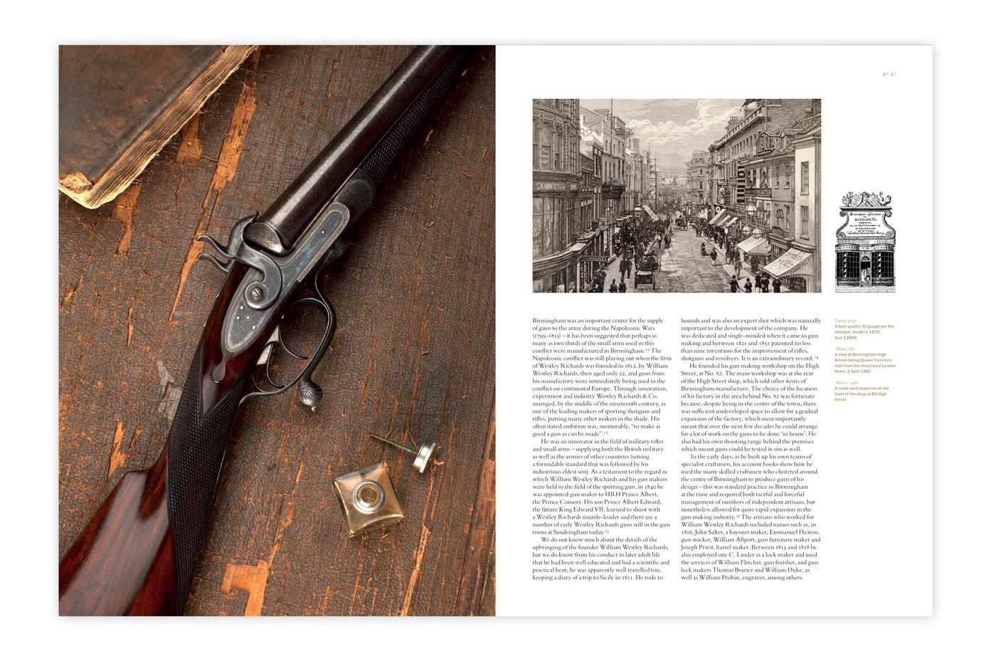 In Pursuit of the Best Gun Westley Richards