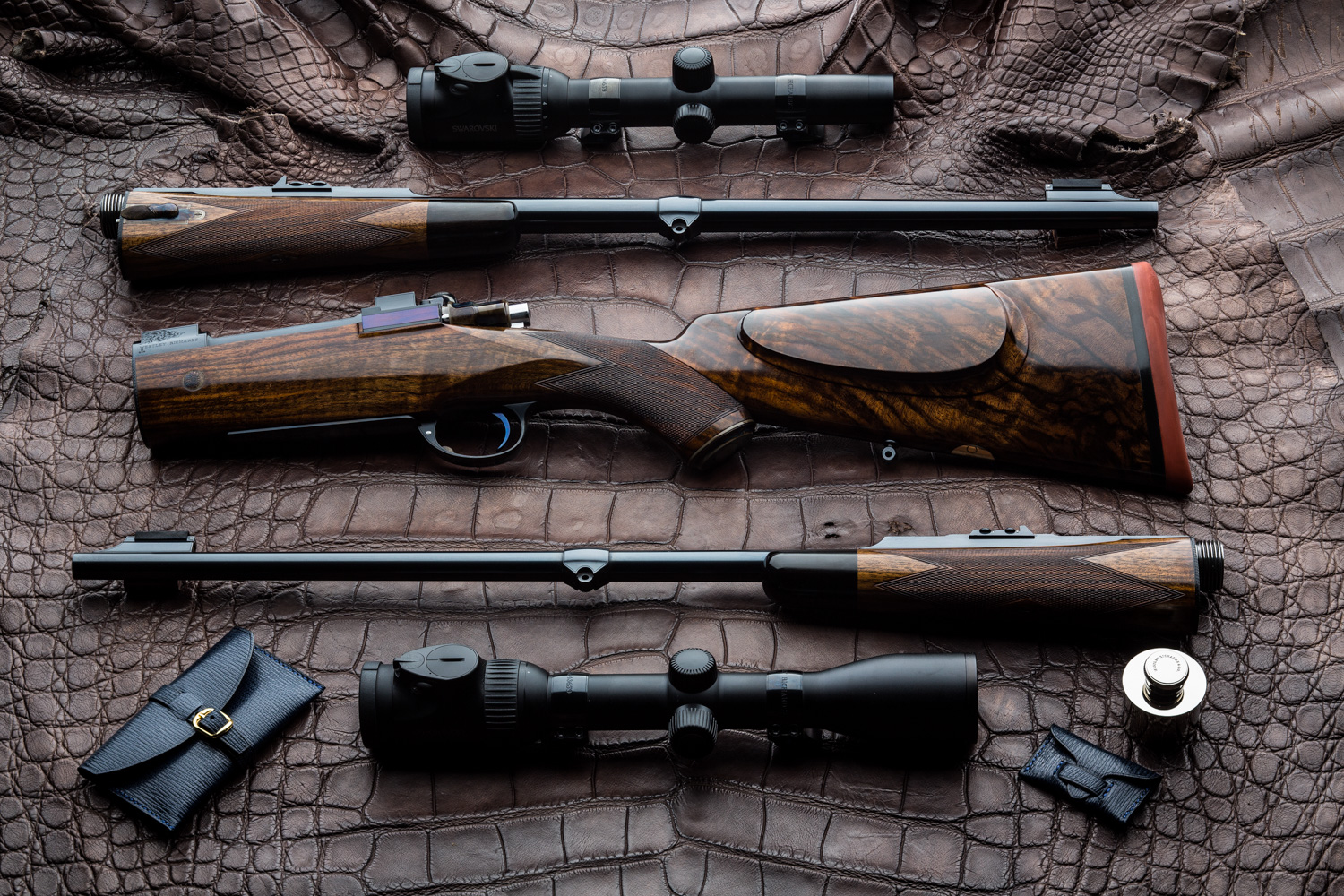 Westley Richards Take Down Rifles
