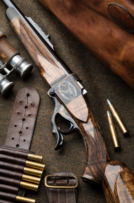 "A New Westley Richards Farquharson Take Down Action 450/400 3"" Single Shot Rifle."