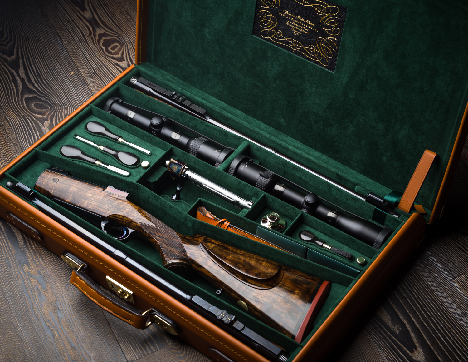 Westley Richards 2 barrel Take Down in .300 & .375 HH