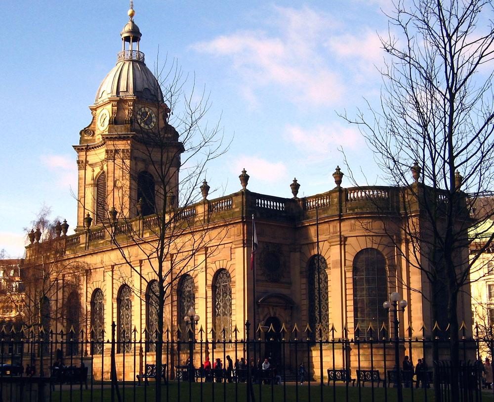 St Phillip's Cathedral Birmingham.
