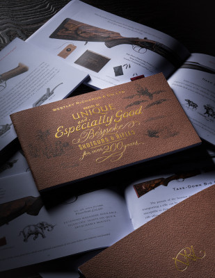 The New - Pocket Size - Westley Richards Gun Catalogue.