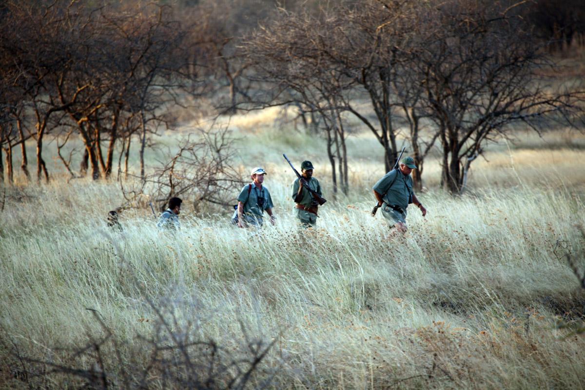 Robin Hurt on safari in Tanzania