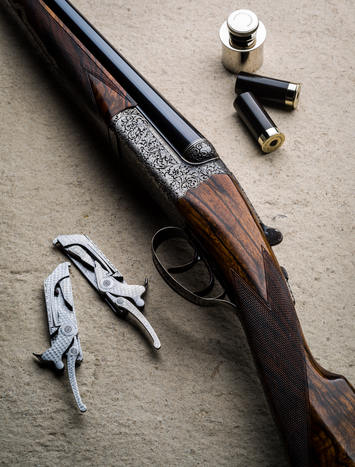 A Westley Richards 20g Hand Detachable Lock Game Gun.