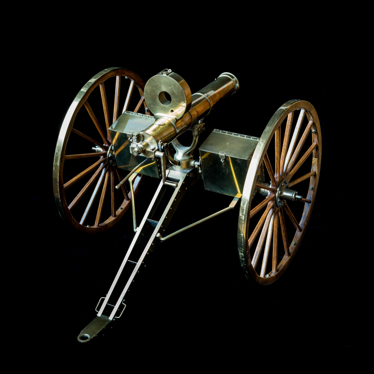 Gatling Gun 1-3rd size model-10