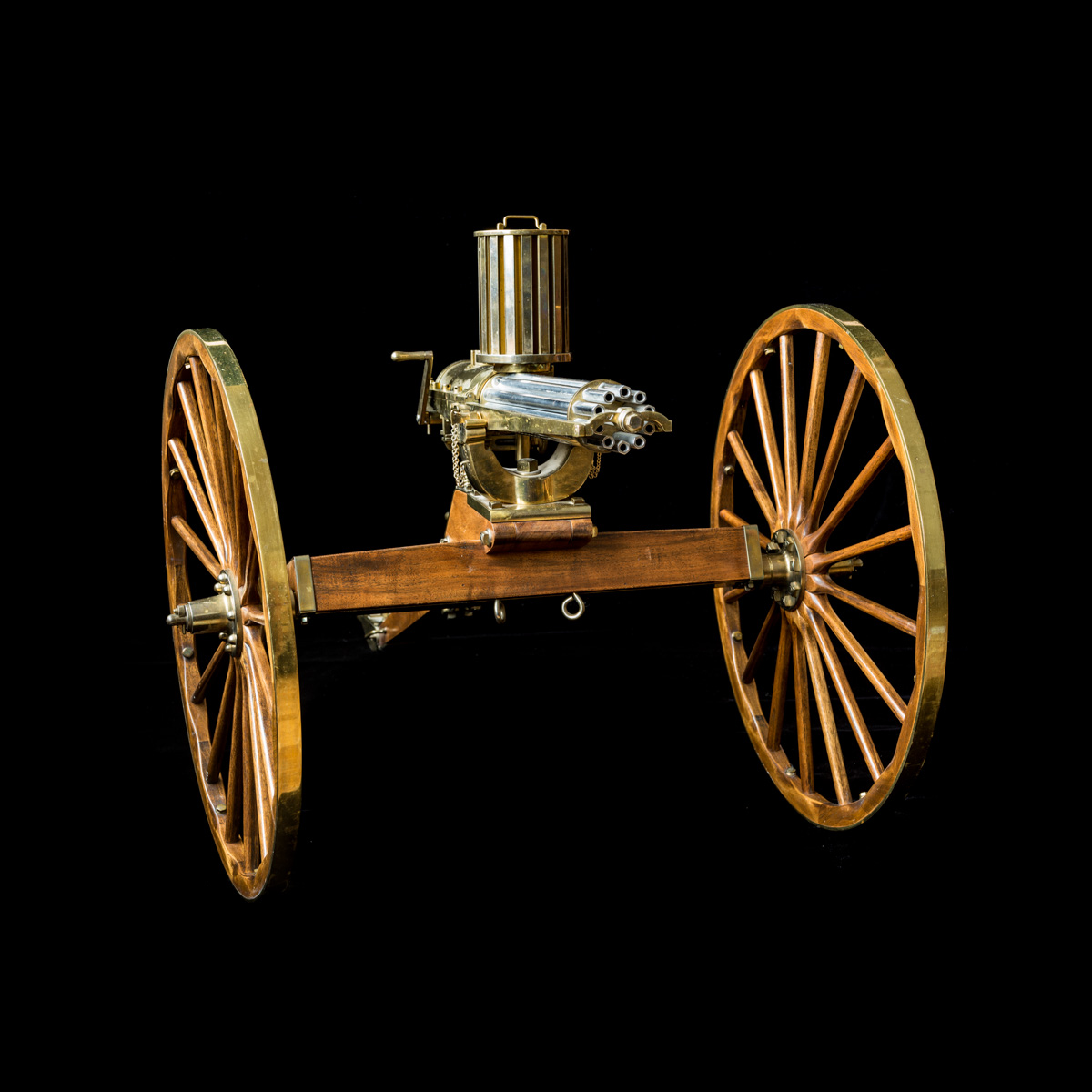 Gatling Gun 1-3rd size model-3