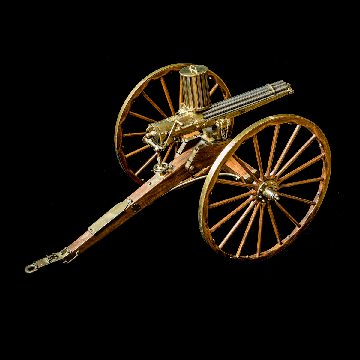 Gatling Gun 1-3rd size model-4