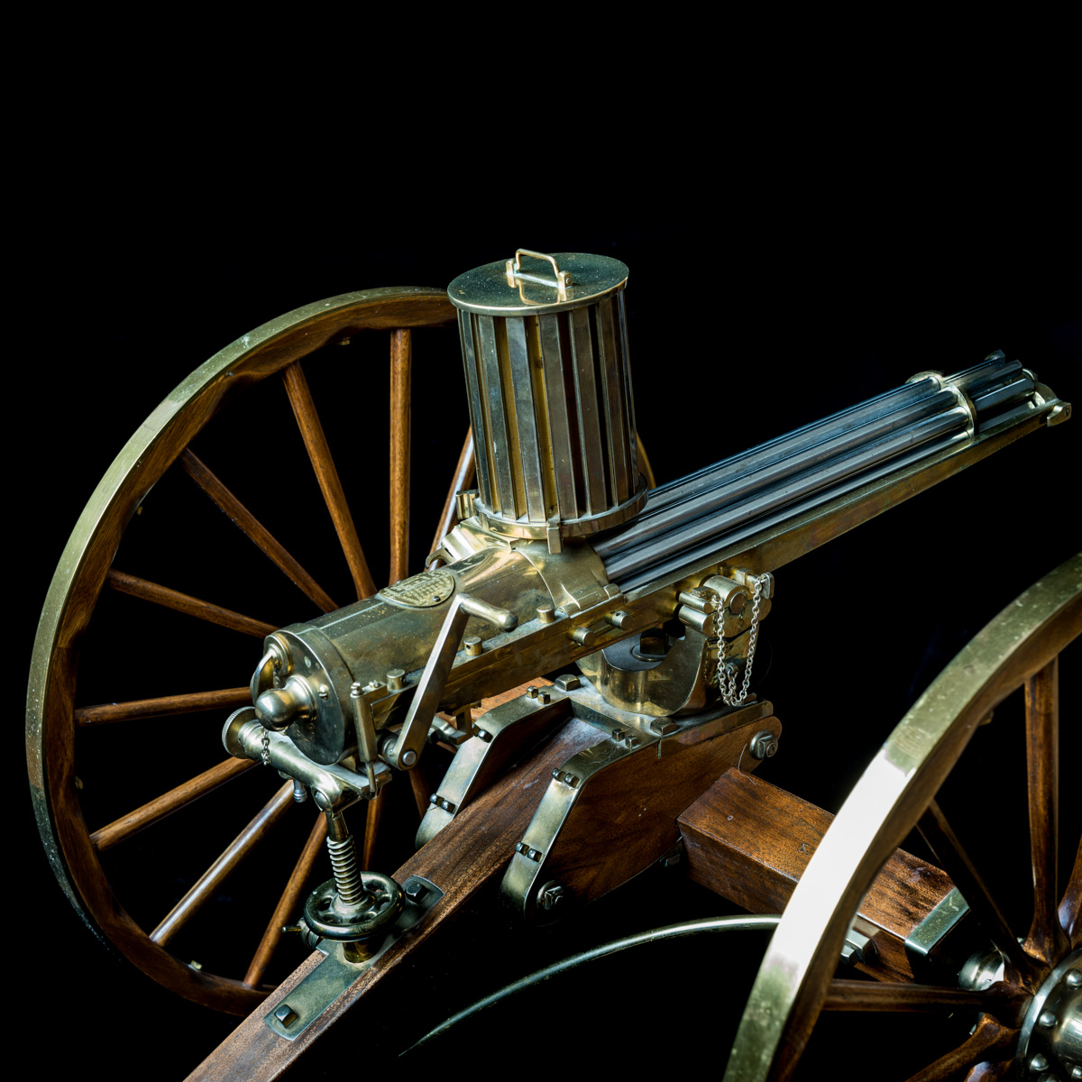 Gatling Gun 1-3rd size model-5
