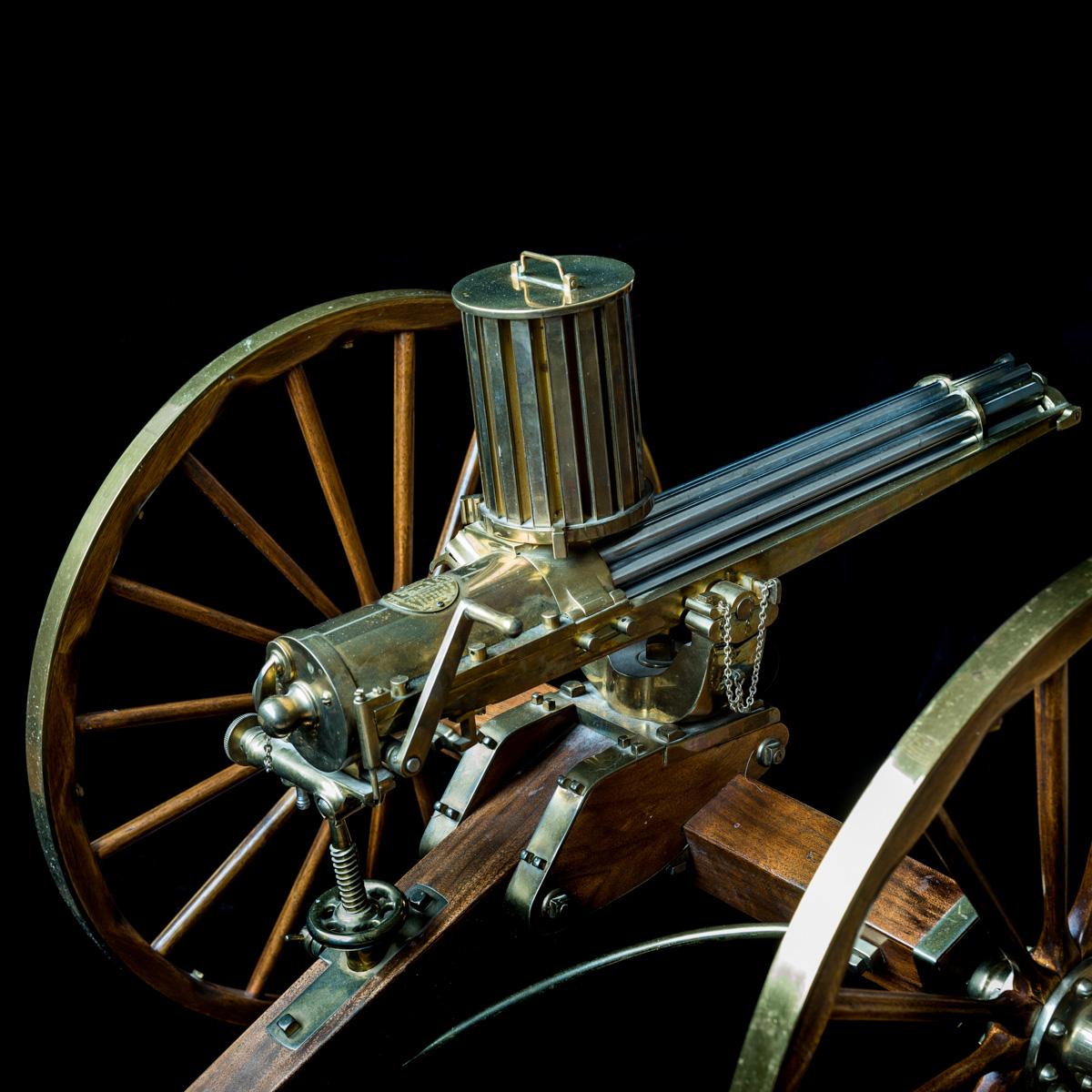 Gatling Gun 1-3rd size model-5