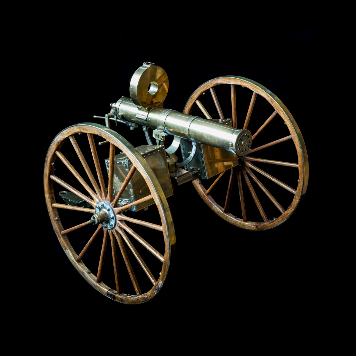 Gatling Gun 1-3rd size model-7